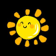 sun cute ftestickers freetoedit