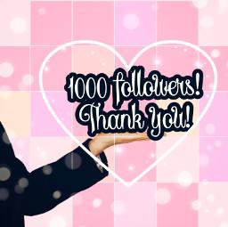 freetoedit thankyou 1000followers 1000 thankful