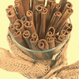 cinnamonsticks cinnamon sticks burlap myphoto pcspices