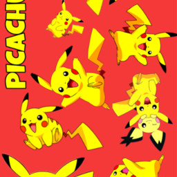 picachu pokemon pocketmonster ピカチュウ ポケモン freetoedit