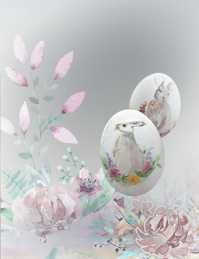 #freetoedit #artisticedit #spring #cutouttool #eggs #eastertime #easter #easteregg  #bunnies #pictureoverlay #filmeffect Original eggs from the gallery of @aleda_bandita