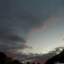 sky clouds sunset ringoffire