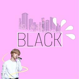 jimin p!nk pink black pinkblack