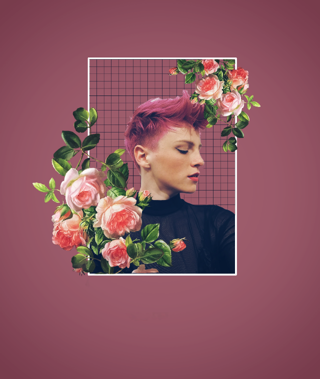 #freetoedit #girl #flower #frame #rose #pink #picsart #picsarteffects #picsartedit #madewithpicsart #remixed #remixit #remix #flowery