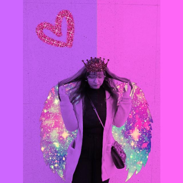 #freetoedit #neon #glitter #galaxy #poland🇵🇱 #stickers #heart #wings #preety #bautyfull #crown #fashion # purple #pink #fashion&style