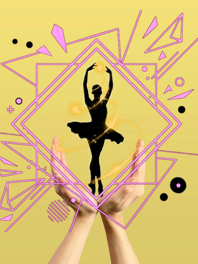 #freetoedit #Ballet #picsart