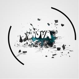 logo smokeeffect shatteredeffect blueeffect roxas334