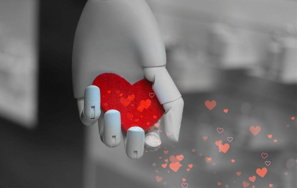 ♥️ #red #playwithpicsart #colorsplash #heart #blackandwhite #love