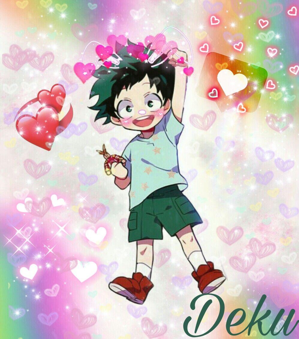 Deku Bnha Myheroacademia Cute Bunny Kawaii Izuku Midori