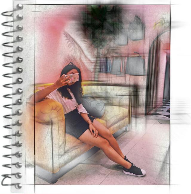 #freetoedit #pencileffect #interior #perspective #sketchbook