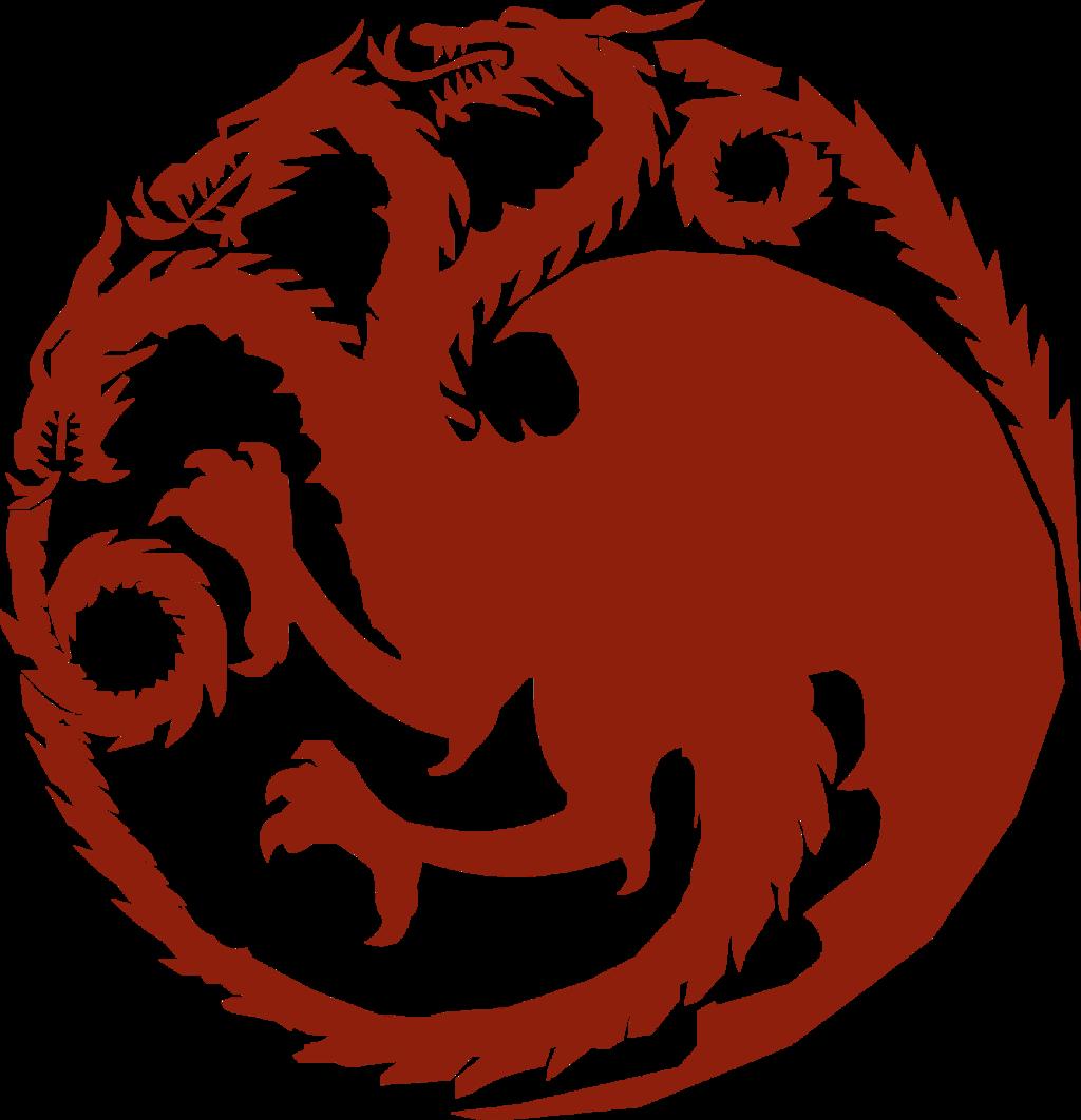 targaryen gameofthrones dragon dragons sigil...