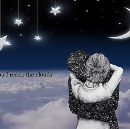 freetoedit stars moon night sky ircclouds