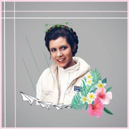 freetoedit princessleia starwars starwarstheforceawakens starwarsthelastjedi