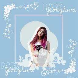 jeonghwa exid pastel blue_sky freetoedit