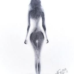 sketch drawing painting drybrush artistic