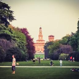 freetoedit castello castellosforzesco milano primavera