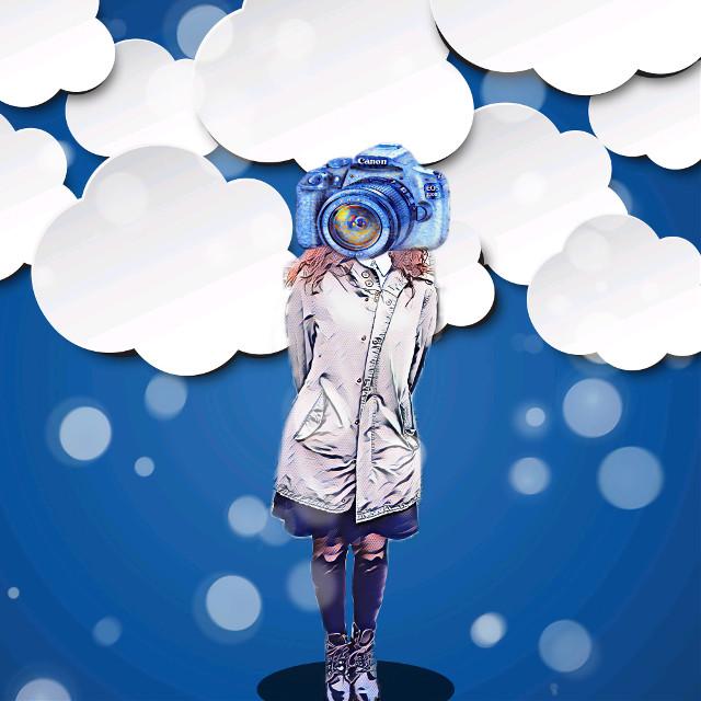 #people #clouds #cloud #camera #colors