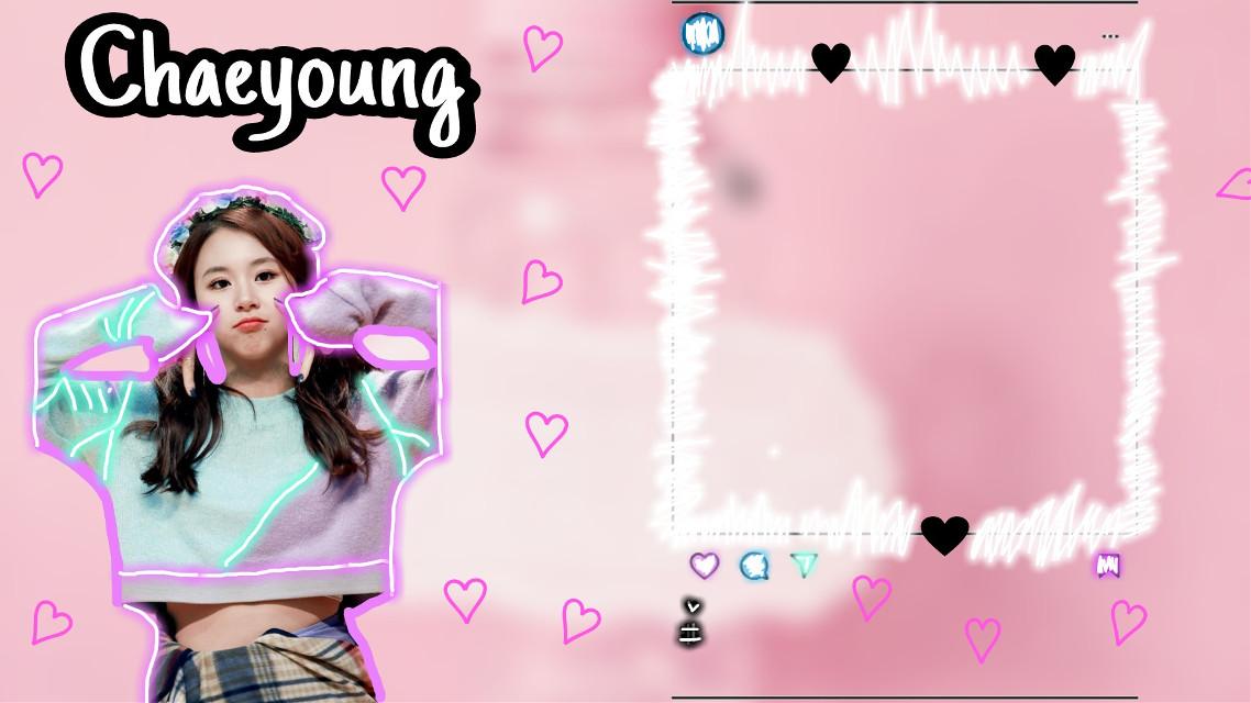 #twice #chaeyoung #amor #rosado