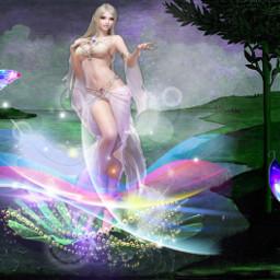 freetoedit venus goddess fantasyart beautiful ircthebirthofvenus