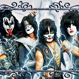 freetoedit kiss kissband music rock