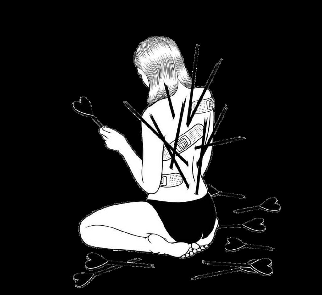 Sad heartbroken depression tumblr blackandwhite