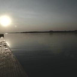 freetoedit nature sunset water lake