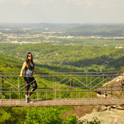 rockcity georgia hangingbridge nature hiking freetoedit