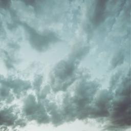 sky clouds blue outside