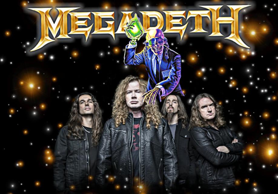 #megadeth #megadeth2018 #metalband #wallpaper #rustinpeace #vicrattlehead #skull #freetoedit
