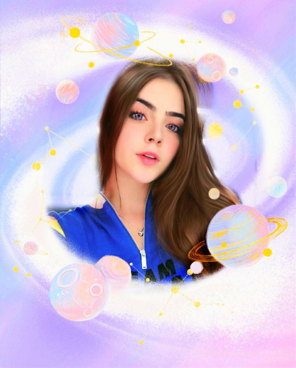 #freetoedit #cosmos #girl #fantasy #digitalart