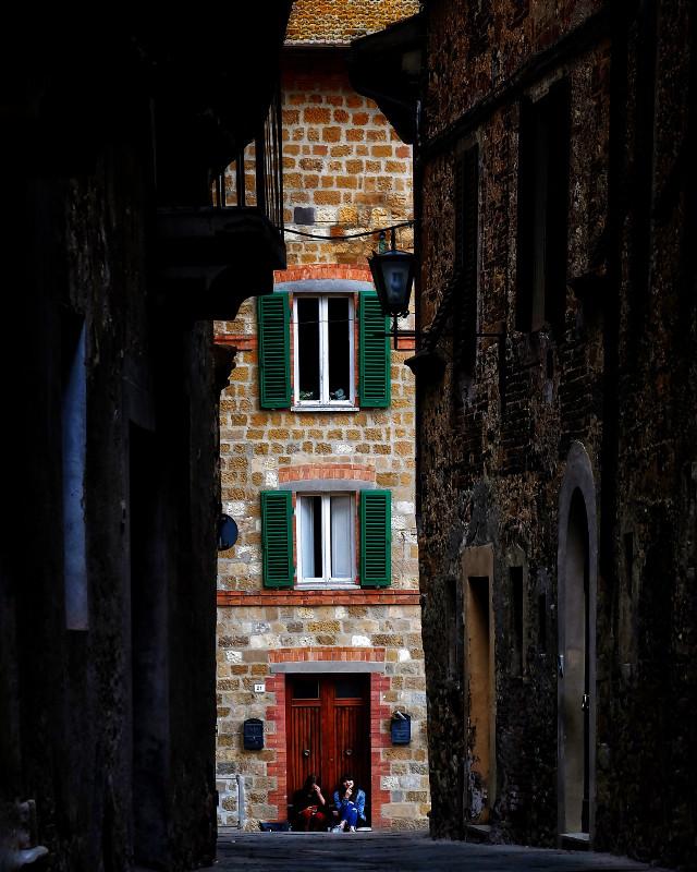 #tuscany #street #city #italy