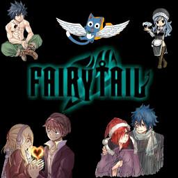 freetoedit fairytail anime cute edit