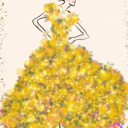 lady mothersdaybrush oilpaintingeffect mydrawing dress freetoedit