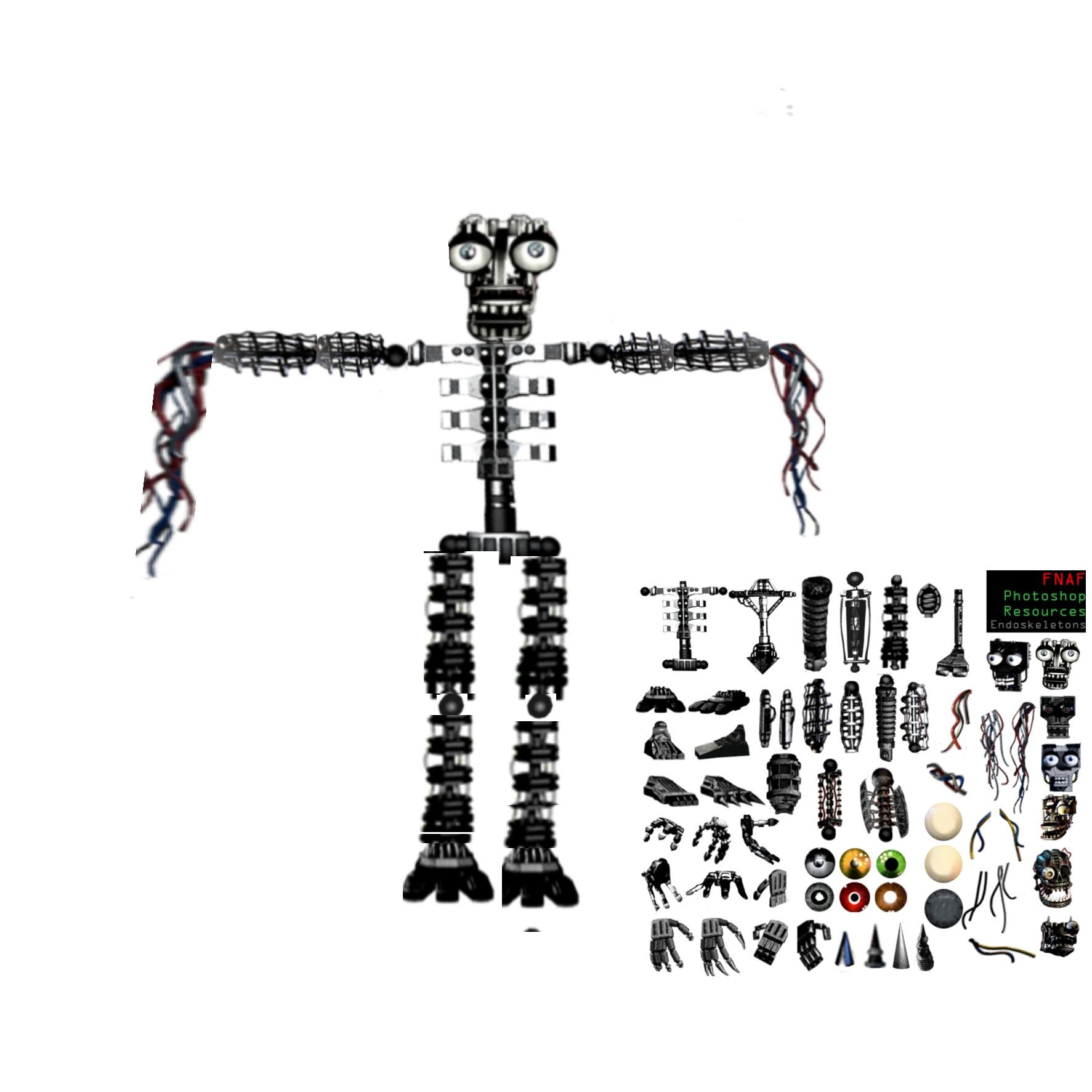 картинки эндоскелет части кухня выполнена
