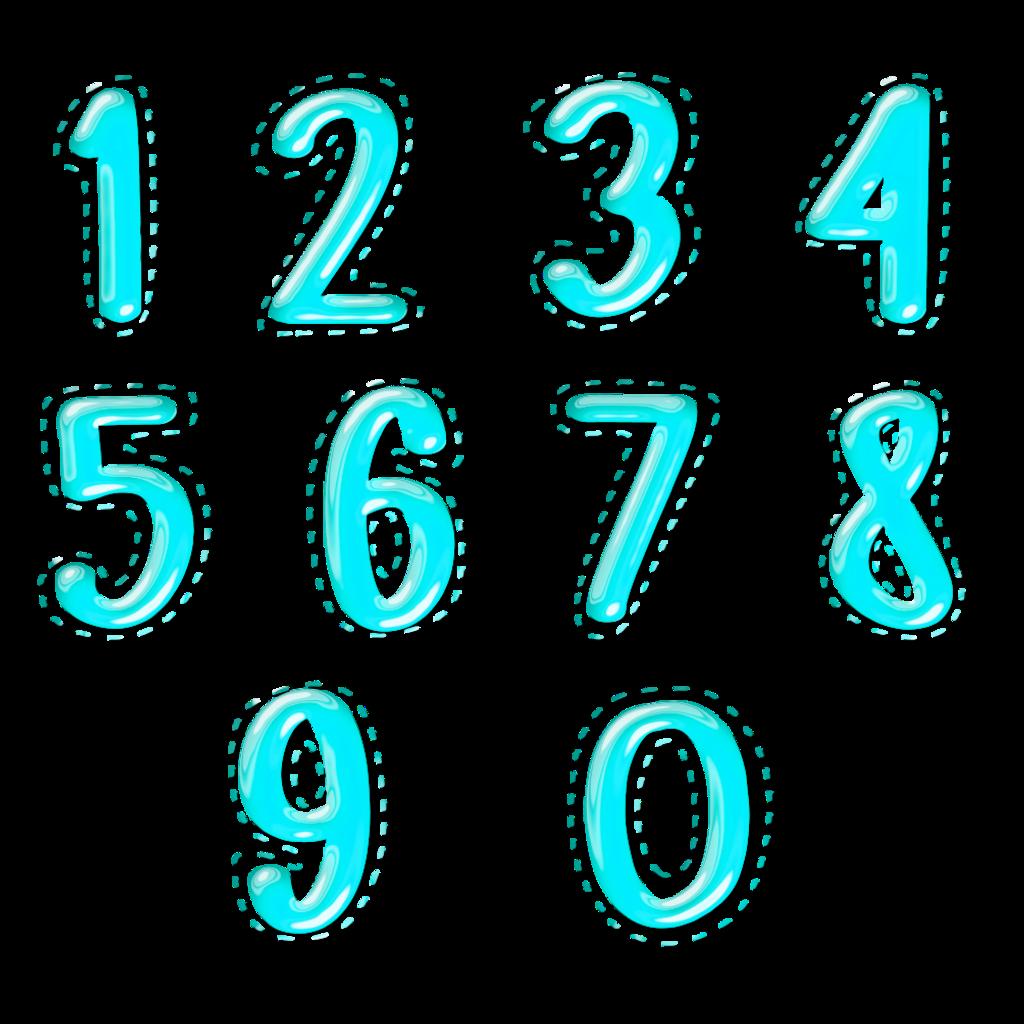 numbers 1-10 3 - Sticker by vw.luisjjo