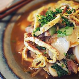 tteokguk korean soup ricecake bowlfood