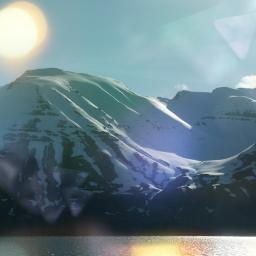 mountains snow landscape bokeheffects photography ecbokeh