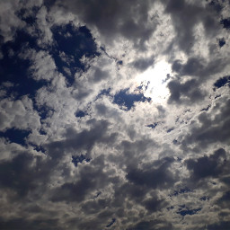 sky clouds nuvens ceu azul