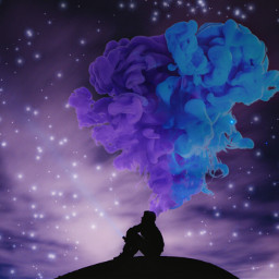 freetoedit colourfulsky ircsilhouettes silhouettes