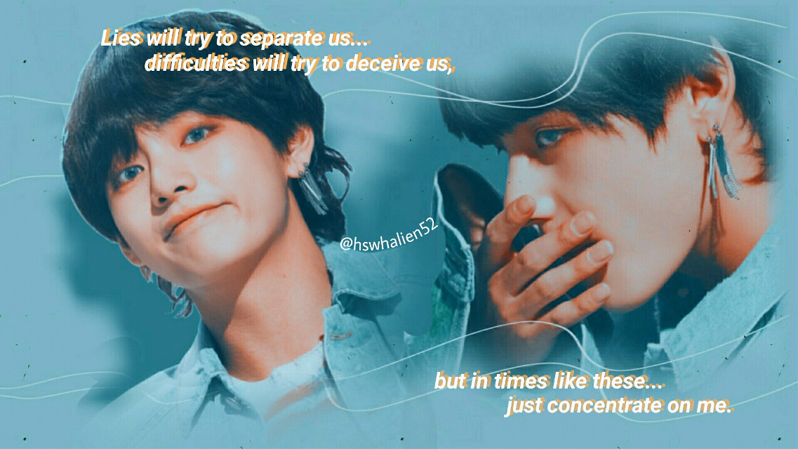This is my entry for #lollyscontest   @lollycraft  I hope you like it 💕💕  The truth I had forgotten about this 😭😅 (so many exams and projects have me very busy 😭)Regulation I hope you like it, I'm very short of imagination these days xD     #BTS #fakelove💔😪 #V #Taehyungkim #bangtanedit #picsart #orange #Blue  #freetoedit