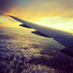 travel travelling goodmorning bangkok airplaneview pcsky