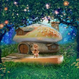 freetoedit myphoto mushroom fairytale hamburgerbun irchamburgerbun