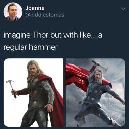 thor hammer freetoedit