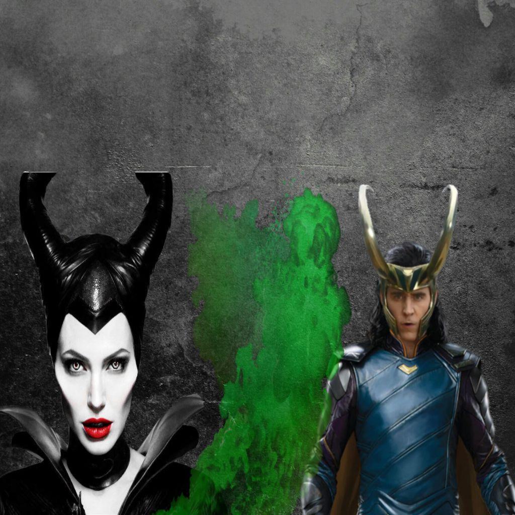 New Edit Of Maleficent X Loki Maloki Maleficent Lokilau