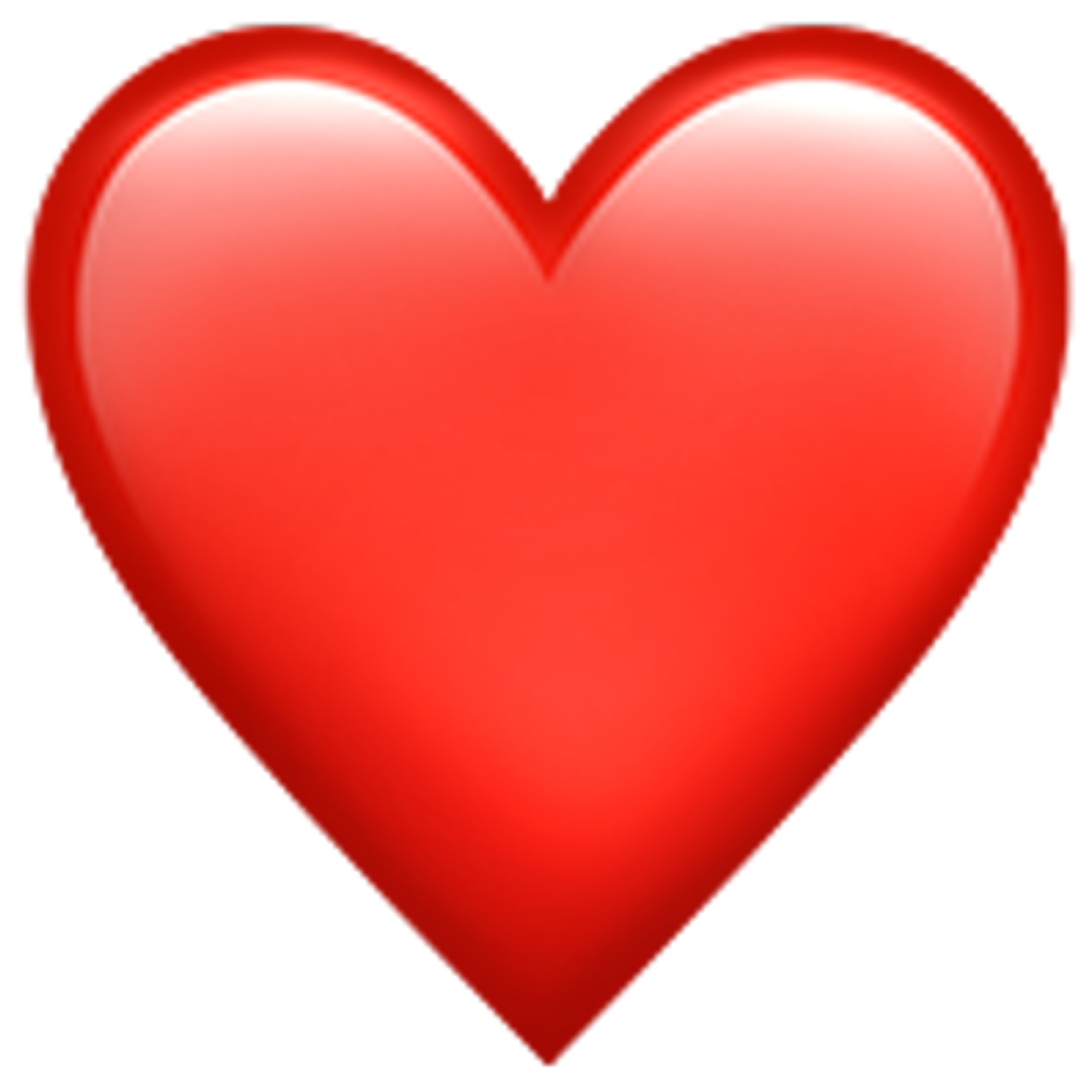 heart red whatsapp imessage emoji