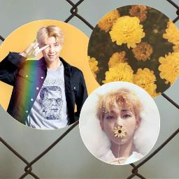 tumblr namjoon yellowflower loveyou freetoedit