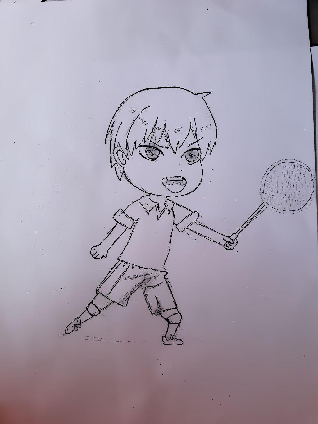 Badminton Anime Sport Chibianime