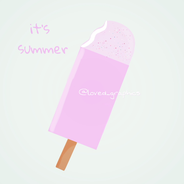 Sunday special drawing 💫 icecream bar   Imma use a hastag for all my drawings #lovedtodraw  ~  click this hashtag to see all my drawings.   #draw #sunday #drawing #icecream #candy #summer #ice #lolly #vector #vectorart #graphics