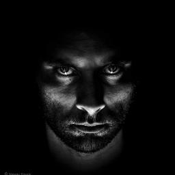 portrait photography blackandwhite bokeh people