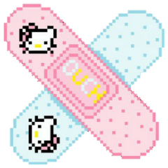 band-aid hellokitty cute kawaii anime